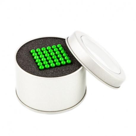 8655 NeoCube zelené – magnetická stavebnice, 216 kuliček, 5 mm