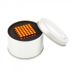 8660 NeoCube oranžové – magnetická stavebnice, 216 kuliček, 5 mm