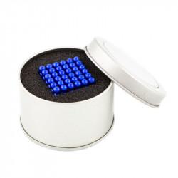8661 NeoCube modré – magnetická stavebnice, 216 kuliček, 5 mm