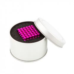 8663 NeoCube růžové – magnetická stavebnice, 216 kuliček, 5 mm