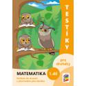 0222 Testíky pro druháky – matematika, 1. díl (barevný pracovní sešit)
