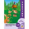 0224 Testíky pro druháky – matematika, 3. díl (barevný pracovní sešit)