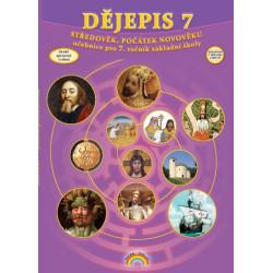 77-40 Dějepis 7 - Středověk, počátek novověku - učebnice