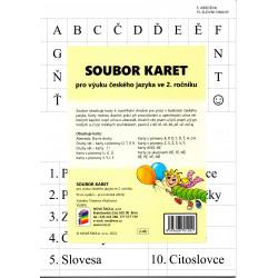 0266 SOUBOR KARET pro výuku Českého jazyka ve 2. ročníku