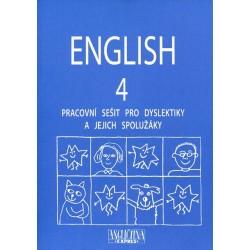 ENGLISH 4 - Pracovní sešiot pro dyslektiky, včetně CD