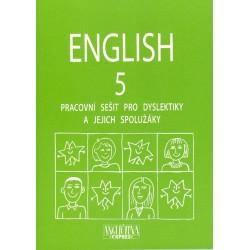 ENGLISH 5 - pracovní sešit pro dyslektiky, včetně CD